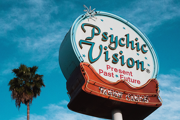 Inline Psychic Sign